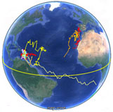 IGMR Satellite Tag Tracks