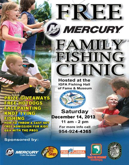 Igfa Mercury Free Family Fishing Clinic
