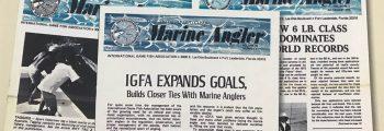 Marine Angler newsletter