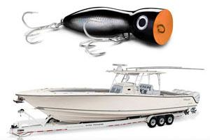 mako boats and xplode rapala popper