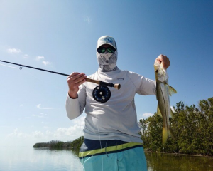 October Slams and Clubs Paul Sabayrac with snook