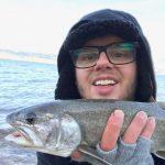 Bryan Marlowe and a Lake Trout