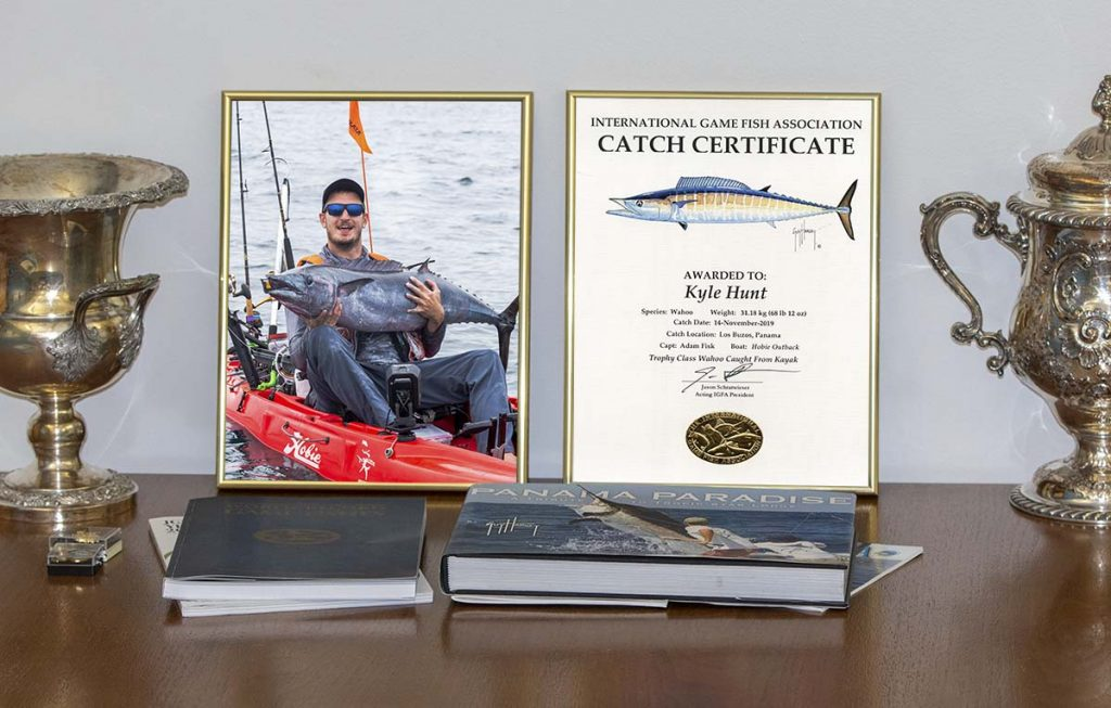 IGFA Catch Certificate