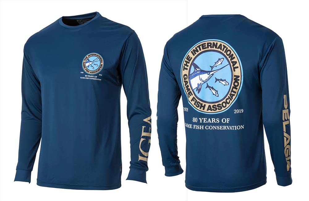 Pelagic and igfa Aquatekshirt